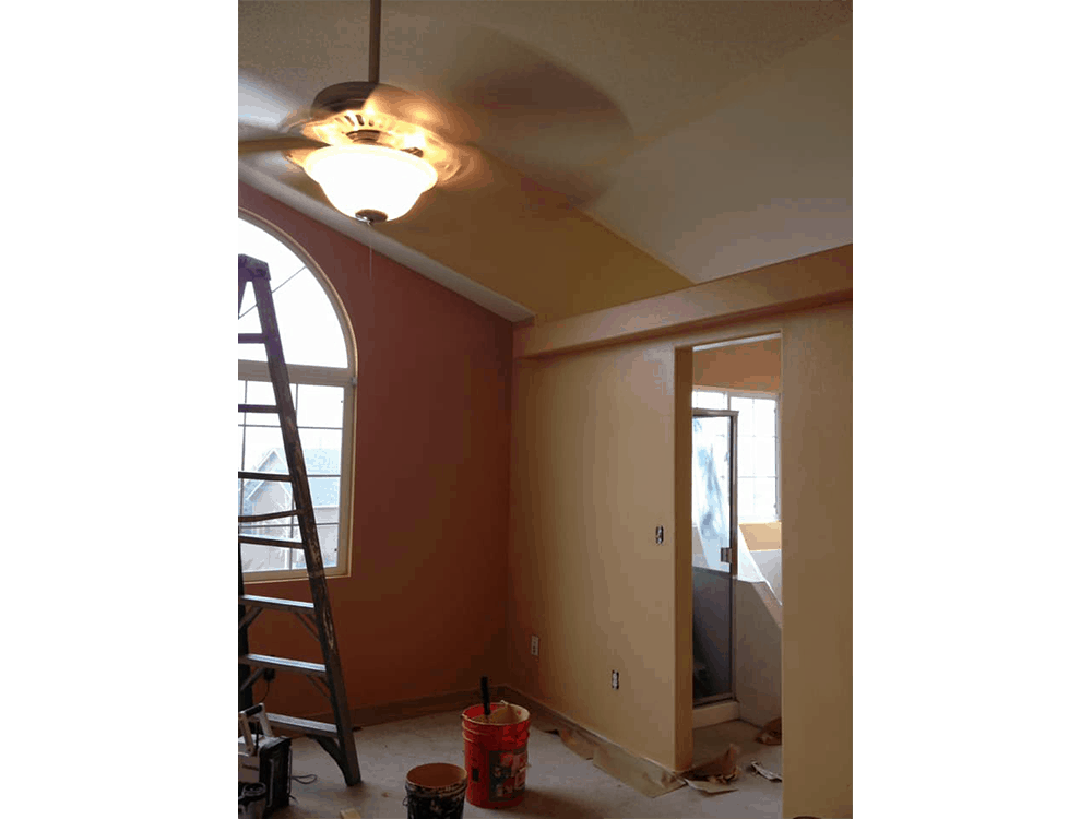 Interior House Painting Job